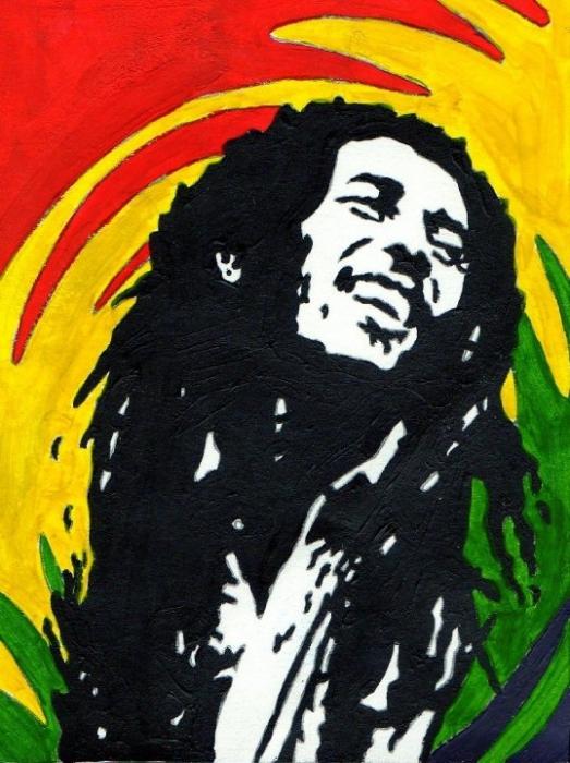 Bob Marley por isherwood66